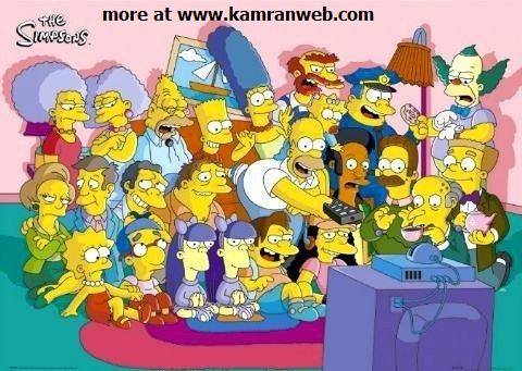 The Simpsons Characters Facebook Tag Your Friends Picture/Photo