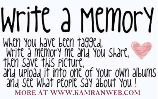 Write a memory on Facebook Tag Your Friends Picture/Photo