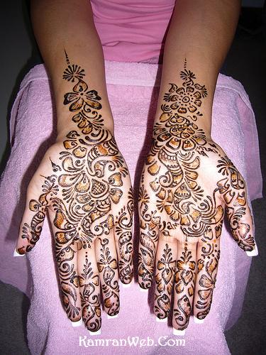 Arabic Mehndi Designs 1
