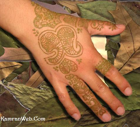 Arabic Mehndi Designs 3