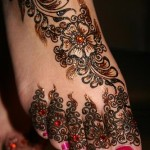 Foot Mehndi Designs 2