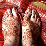 Foot Mehndi Designs 3