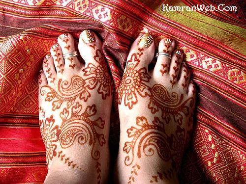 Foot Mehndi Designs 3