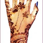 Hand Mehndi Design 5