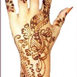 Hand Mehndi Design 6