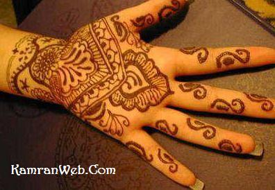 Hand Mehndi Design 7