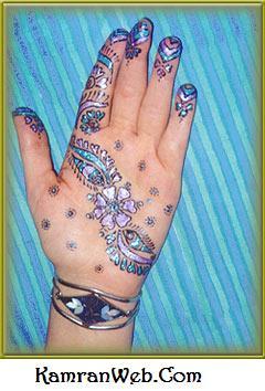 Hand Mehndi Designs 1