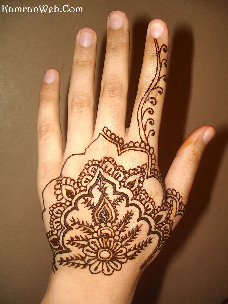 Hand Mehndi Easy Design : Simple mehndi design designs