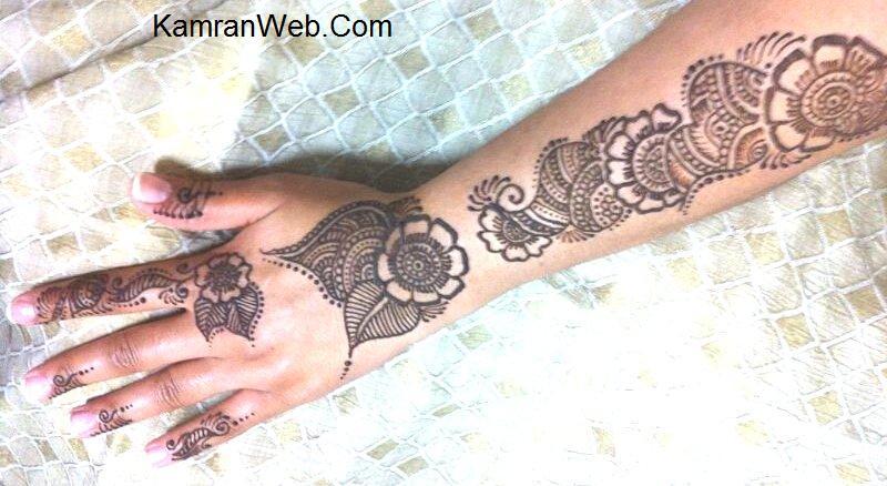 Mehndi Full Arm : Arm mehndi pattern designs