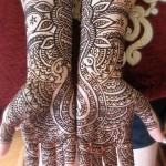 Detailed Mehndi Design