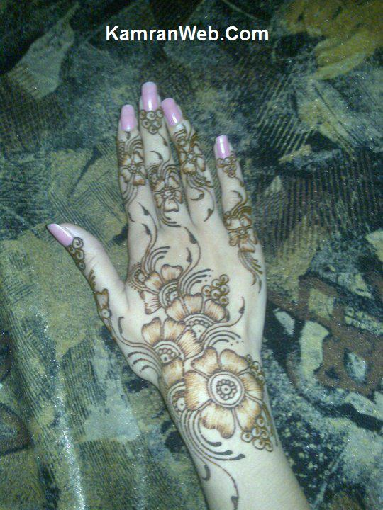 Right Hand Mehndi