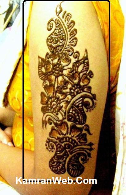 Easy Arm Mehndi