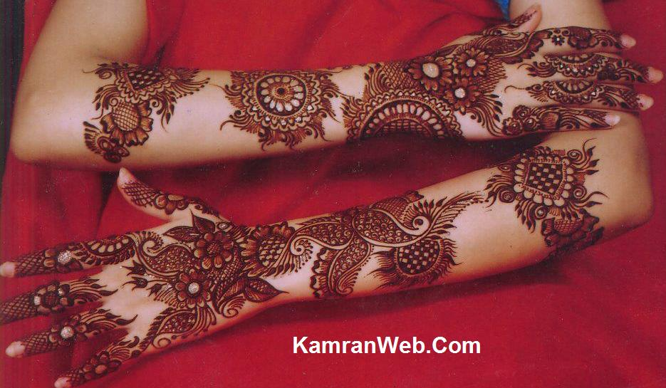 Full Arm Mehndi : Bridal mehndi arms designs