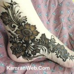 Bridal Mehndi Feet