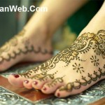 Easy Feet Mehndi