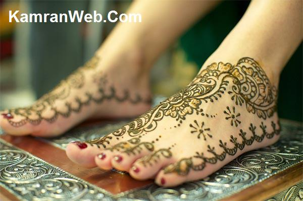 Easy Feet Mehndi