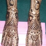 Mehndi for Legs