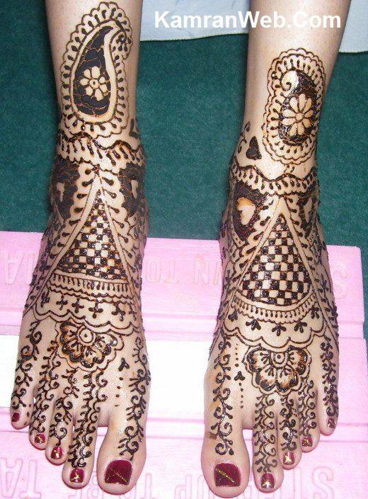 Mehndi for Legs