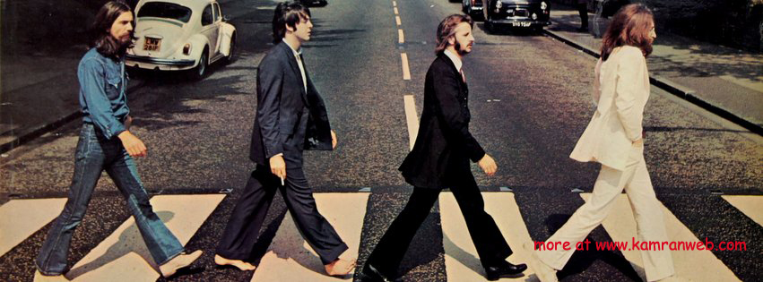 Celebrities Timeline Cover - The Beatles Abbey Road Cover