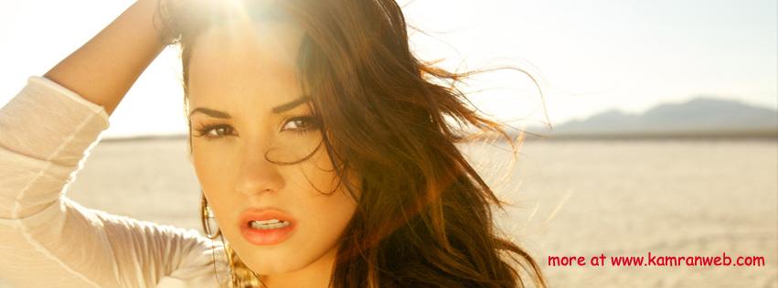 Celebrities Timeline Cover - Demi Lovato Cover