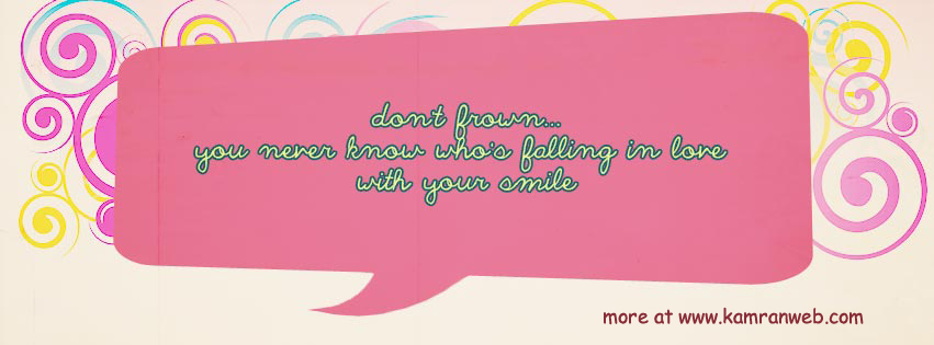 Quotes Timeline Cover - Don't Frown Cover