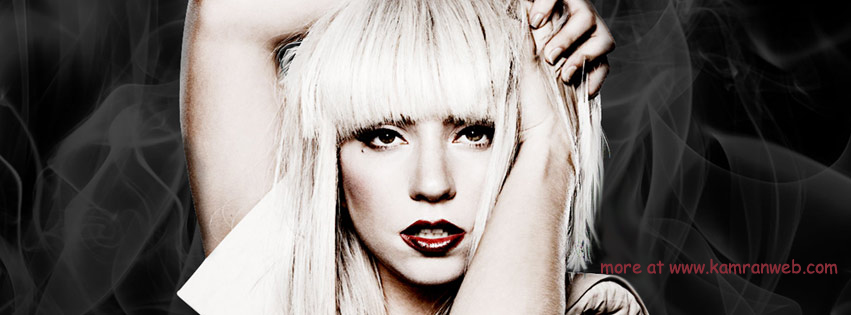 Celebrities Timeline Cover - Lady Gaga Cover