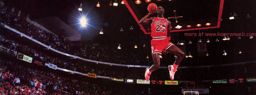 Sports Timeline Cover - Michael Jordan Cover