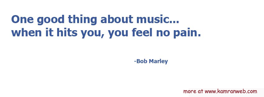 Quotes Timeline Cover - Bob Marley Quote Cover