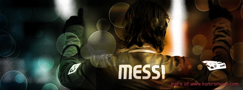 Sports Timeline Cover - Lionel Messi Cover
